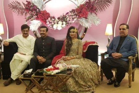 TV anchor Madiha Naqvi gets  married to Faisal Sabzwari